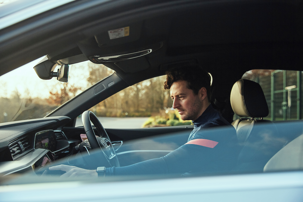 Greg Funnell: Greg shoots the Audi and Tottenham FC. collab.